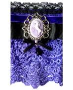 Purple Unicorn Cuff Bracelet