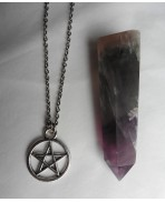 Pentacle Necklace, Pagan, Gothic, Wiccan, Spell, Sorcery, Witch, Boho, Grunge