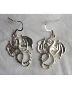Dragons Earrings, Dragon, Drogon, Daenerys, Khaleesi, Gothic, Game of Thrones, Elven, Fantasy, Medieval, Magic, creature