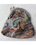Bollywood Cashmere printed cotton retro clasp Purse, Coins, Retro purse, Coin purse, Monnay, Bag