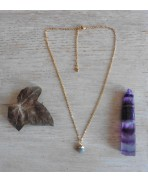 Dainty Minimalist Labradorite drop gold-plated necklace, Bohemian jewelry, Labradorite, festival, Wedding