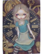 Carte Alice in Clockwork de Jasmine Becket-Griffith