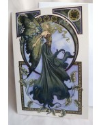 Carte de voeux The Green Fairy Amy brown
