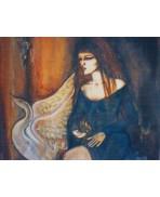 Leda and the Swan Card
